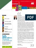 April 2009 ETUC Newsletter
