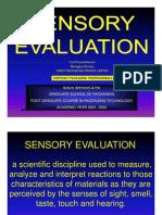 Sensory Evaluation
