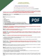 Decreto nº 2.829-1998 - Normas para elaboração e execução do PPA e dos Orçamentos da União