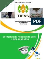 Catalogo Productos Tiens Venezuela 2009