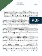 .. Sheetmusic Chopin Waltz Op64 No2