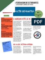 Boletín Informativo FEUCN