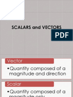 Scalar And Vector