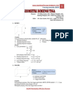 Modul Matematika Dimensi Tiga