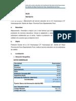 Mejoramiento de Servicio Institucion Educativa Huancasaya 2