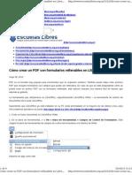 Formulario PDF Libreo