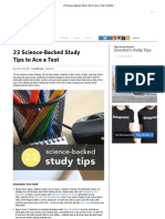 23 Science-Backed Study Tips to Ace a Test _ Greatist