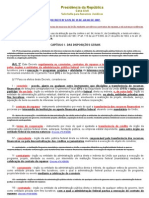 Decreto nº 6.170-2007 (Normas relativas a convênios)