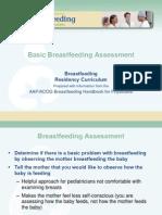 Basic Breastfeeding Assessment