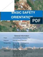 Basic Safety Orientation