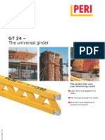 01.10 GT24 Girder Catalogue