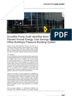 Grundfos Pump Audit Identifies More Than 80 Percent Annual Energy Cost Savings for 14 Story Office Building s Pressure Boosting System