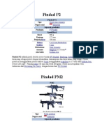 Senjata Buatan PT. Pindad