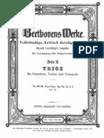 Piano Trio in D Major, Op.70 No.1 (Beethoven, Ludwig Van) Piano