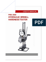 Brinell Manual Phb 3000