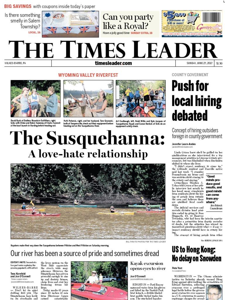 Times Leader 06 23 2013