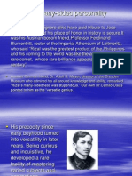Many Sided Personalities of Rizal