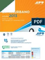APT Estate 2013 Orario Servizio Extraurbano