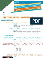 La Lettre de l'IFM Du 23 Au 28 Juin 2013