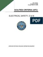 UFC Electrical Safety O&M