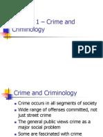 Chapter 1 criminal sociology