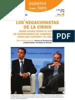 Los que negaban la crisis