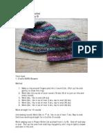 Cloche Hat in Crochet