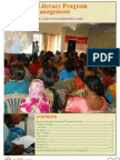 Ujjivan Parinaam Financial Literacy Project Report
