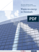 Waste to Energy in Denmark