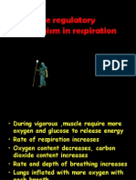 The Regulatory Mechanism in Respiration
