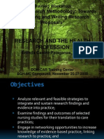 Research and the Health Profession.ppt