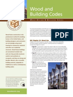 Wood Design Building Codes Fact Sheet