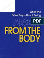 Absent From the Body - By Joe Crews