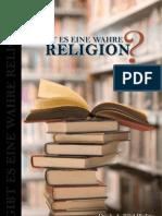 GIBT ES EINE WAHRE RELIGION?