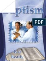 Baptism [is It Necessary] - By Joe Crews