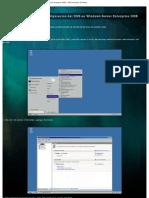 Manual de Instalacion y Configuracion Del DNS en Windows Server 2008