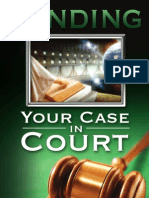 Pending [Your Case in Court] - By Joe Crews01