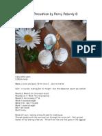 Crochet Egg Pincushion