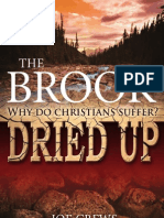 The Brook Why Do Christians Suffer Dried Up - By Joe Crews