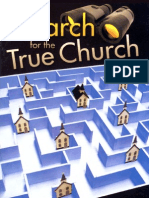 The Search for the True Church - By Joe Crews