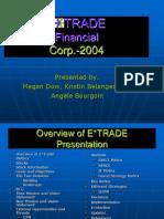Etrade Case Study