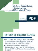 Case Presentation Bipolar 1 Manic Type