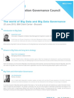 The world of Big Data and Big Data Governance