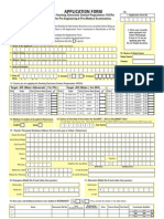 Admission Form for RESONANCE