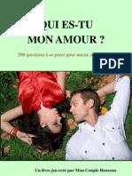 200 Questions Pour Votre Couple