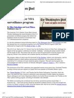 ACLU Sues NSA Surv Program