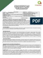 Formato de Informe Psicopedagogico Aprobado La Supervision