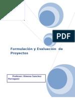 Resumen Guia Formulación y Evaluación de Proyectos