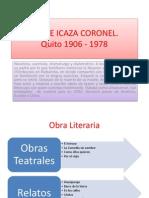 Jorge Icaza Coronel
