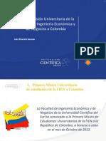 Presentacion Primera Mision Fien a Colombia